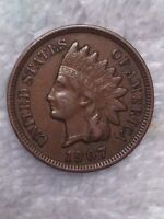 1907 INDIAN CENT XF LY FINE