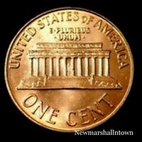 2002 P LINCOLN MEMORIAL PENNY   UNCIRCULATED CENT FROM BANK ROLL