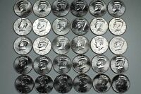 2001   2015 KENNEDY HALF DOLLAR UNCIRCULATED 30 COIN MINT ROLL SET LOT A5