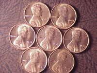 1968 S/1974 S UNC. MEMORIALS 7 NICE HARD TO FIND COINS TAKE A