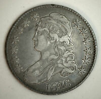 1826 CAPPED BUST HALF DOLLAR SILVER FIFTY CENT U.S. TYPE COIN EXTRA FINE XF