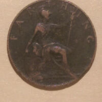 1900 BRITISH / ENGLISH FARTHING COIN   B1