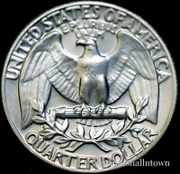 1985 D  WASHINGTON BRILLIANT UNCIRCULATED QUARTER   CHOICE COIN FROM BANK ROLL