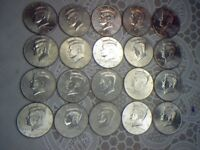 2002 TO 2016 P&D KENNEDY HALVES WITH 1987 P&D: 32 DIFFERENT COINS