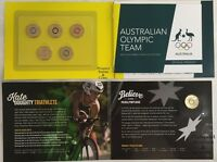 2016   AUSTRALIAN OLYMPIC TEAM AND PARALYMPIC COLOURED TWO DOLLAR  $2  UNC COINS