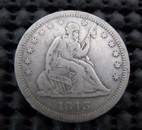 1843 O SEATED QUARTER