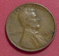 1936 LINCOLN WHEAT CENT PENNY    A395