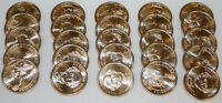 2008-P ROLL MARTIN VAN BUREN PRESIDENTIAL UNCIRCULATED US DOLLARS 25 COINS