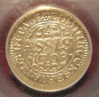 1708 SWITZERLAND BASEL SILVER ASSIS PCGS MS63
