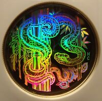 2001 CANADA GOLD $150 PROOF SNAKE HOLOGRAM NGC PF67 ULTRA CAMEO