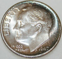 1947 S ROOSEVELT DIME UNCIRCULATED CHOICE [SN01]