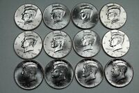 2011 2012 2013 2014 2015 2016 P & D KENNEDY HALF  UNCIRCULATED MINT ROLL SET