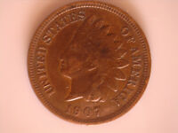 1907 INDIAN CENT XF COND