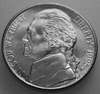 NICKEL JEFFERSON UNCIRCULATED 1995 P