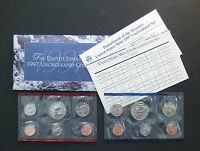 1997  UNITED STATES MINT UNCIRCULATED COIN SET         S459