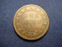 CANADIAN 1888 LARGE CENT  WITH