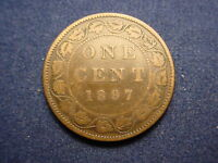1897 CANADIAN LARGE CENT YOU GRADE  WITH