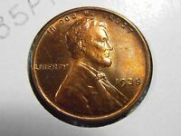 1935 P LINCOLN CENT  UNCIRCULATED WHEAT PENNY.  35PTK1