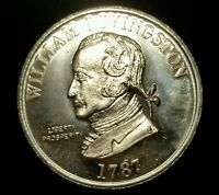 LOT OF TWO 1787 NEW JERSEY WILLIAM LIVINGSTON MEDAL TC 449047