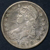 1812 CAPPED BUST HALF DOLLAR O 109A R2 EARLY VARIETY GREAT LOW BUY PRICE
