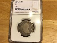 1806/5 DRAPED BUST HALF DOLLAR NGC G4 SHIPS FREE OVERDATE BELOW WHOLESALE