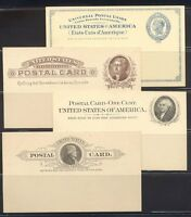 U.S. UX6/15/ MINT - 1879 - 98 POSTAL CARDS $172
