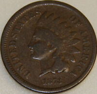 1873 P INDIAN CENT CLOSED 3 [SN03]