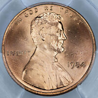 1984 PCGS MS67RD LINCOLN CENT