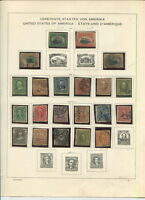 USED US ON FOREIGN LANGUAGE ALBUM PAGES 1901 TO 1925