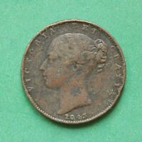 1843 QUEEN VICTORIA FARTHING SNO43798