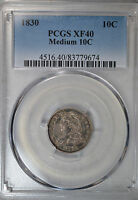 1830 CAPPED BUST DIME PCGS XF40