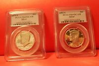 1992 2012 SILVER KENNEDY HALF DOLLAR COIN SET PCGS 69 21 COINS  1976 22 TOTAL