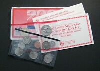 2002  UNITED STATES MINT UNCIRCULATED COIN SET     DENVER    S610