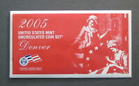 2005  UNITED STATES MINT UNCIRCULATED COIN SET    DENVER   11 COINS   L932