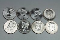 2012 2013 2014 2015 P & D KENNEDY HALF DOLLAR UNCIRCULATED MINT ROLL SET