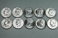 2012 2013 2014 2015 2016 P & D KENNEDY HALF DOLLAR UNCIRCULATED MINT ROLL SET