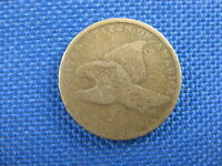 1858 LL FLYING EAGLE UNITED STATES CENT