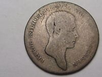 1812 A GERMAN STATE PRUSSIA SILVER 1/6 THALER.  21