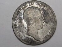 1813 A GERMAN STATE PRUSSIA SILVER 1/6 THALER.  20