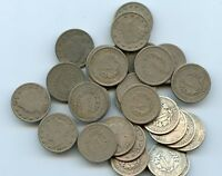 29  LIBERTY NICKELS FROM THE 1900'S    GOOD   HUCKY