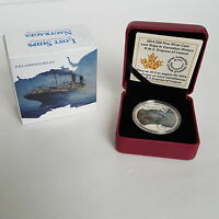 2014 $20 FINE SILVER COIN LOST SHIPS IN CANADIAN WATERS R.M.S EMPRESS OF IRELAND