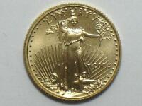 2004 $5 AMERICAN GOLD EAGLE 1/10 OZ   TENTH OUNCE AGE