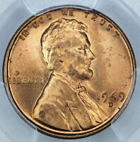 1949 D PCGS MS65RD LINCOLN CENT