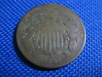1865 U.S. 2 CENT COIN