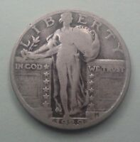 1929  25C STANDING LIBERTY QUARTER  90  SILVER US COIN SLQ10 OLD