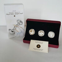 $20 FINE SILVER ROYAL INFANT 3 COIN SET   2013