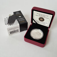 2013 $20 FINE SILVER COIN   THE BALD EAGLE   MOTHER PROTECTING HER EAGLETS