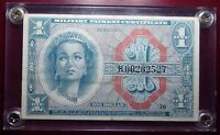 $1 MILITARY PAYMENT CERTIFICATE MPC SERIES 611 REPLACEMENT NOTE