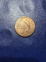 1810 CLASSIC HEAD LARGE CENT COIN OLD US MONEY