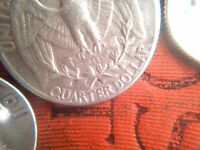 1958D WASHINGTON SILVER QUARTER MINT MARK ODDLY SHAPED ERROR AND VARIETY